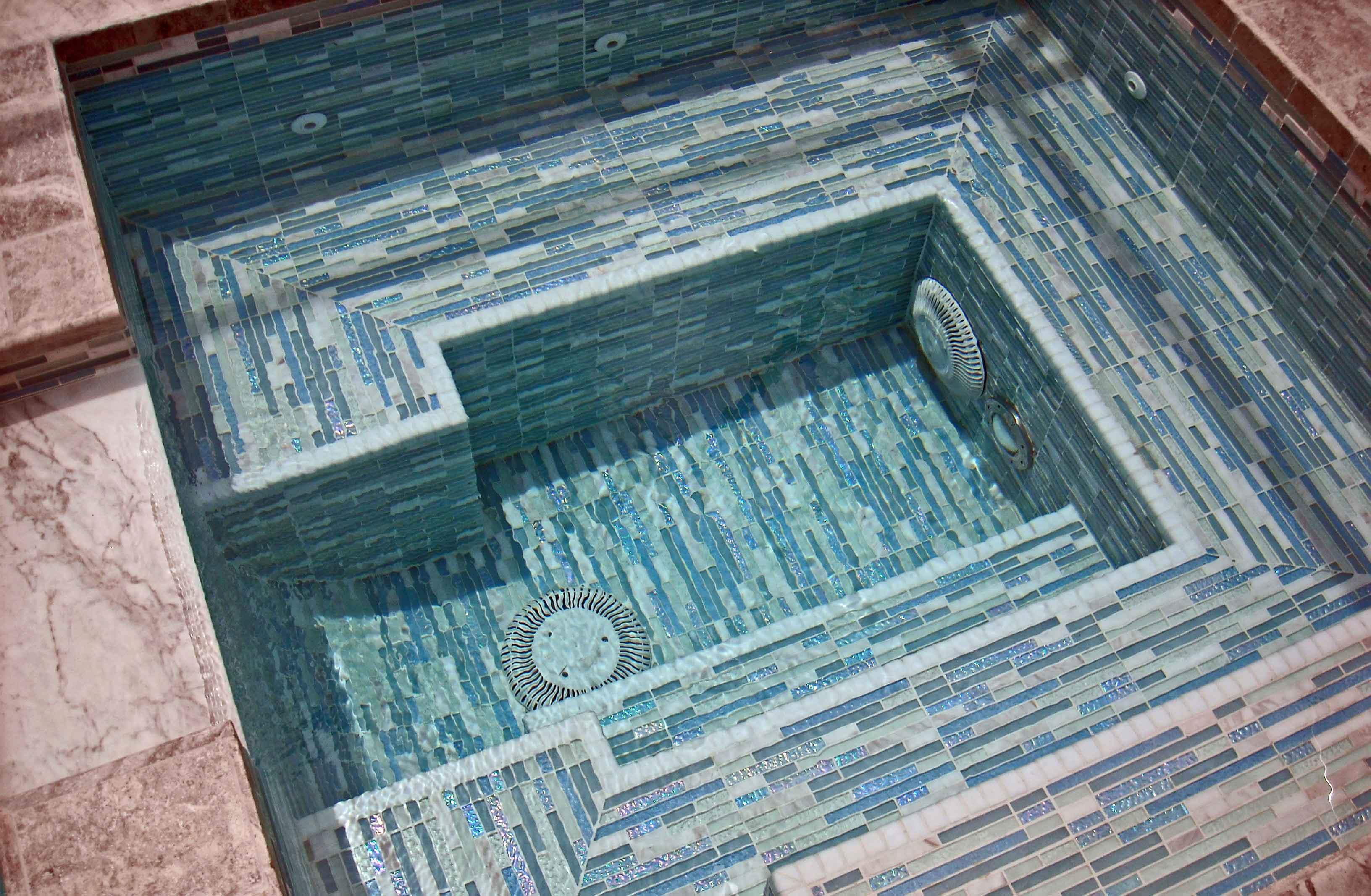 Tiled Spa