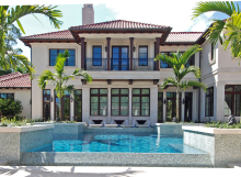 Glass Tile Pool Naples