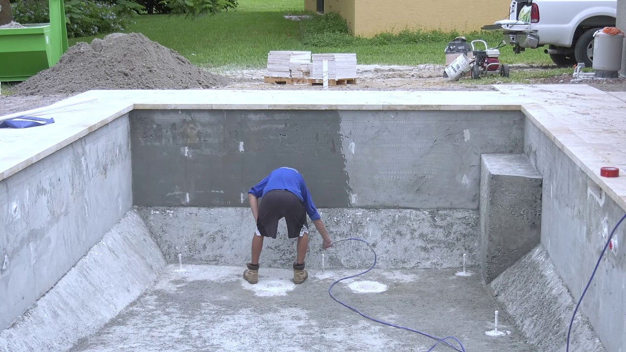 Backyard Resort Pool Time Lapse | Awesome Pool Design | SWFL Pool Design | Jackson Pools
