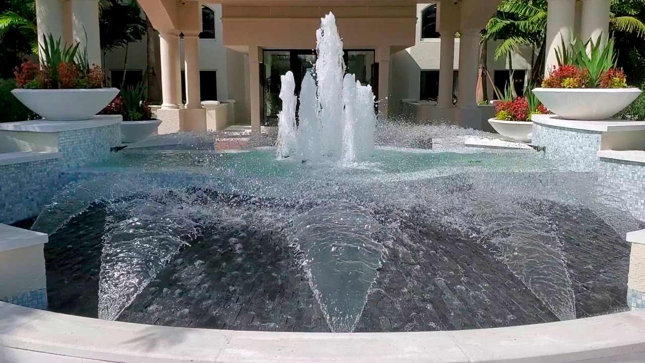 Carlylse Auto Court Water Feature Installation
