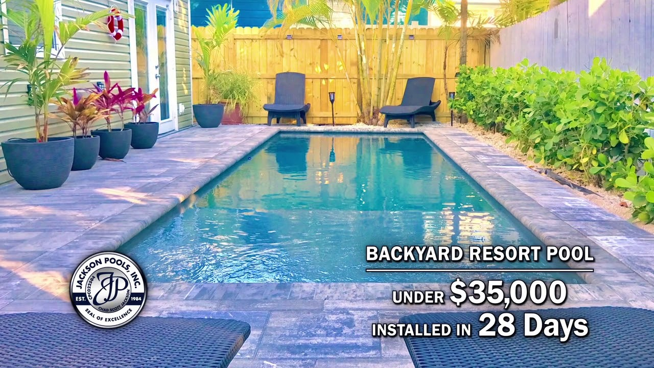 Backyard Resort Pools | Jackson Pools | SWFL Pools